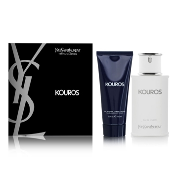 Yves Saint Laurent Kouros Giftset 200ml - 100ml Eau De Toilette + 100ml Shower Gel