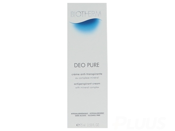 Biotherm Deo Pure Antiperspirant Cream 75ml