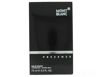 Mont Blanc Presence For Men Eau De Toilette Spray 75ml