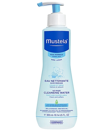 Mustela Normal Skin No Rinse Cleansing Water 300ml