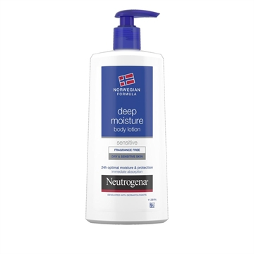 Neutrogena Body Lotion 400ml Dry And Sensitive Skin