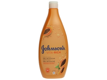 J&J Shower Gel - Vita Rich Silk Effect Papaya 750 ml