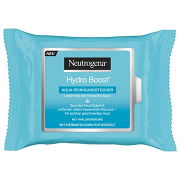 Neutrogena Hydro Boost Facial Cleaning Wipes 25pc
