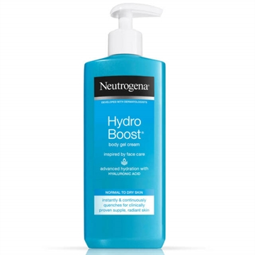 Neutrogena Hydro Boost Gel Body Cream 250ml Normal To Dry Skin
