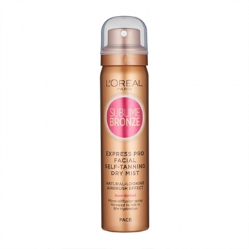 L' Oreal  Sublime Bronze Express Mist Face 75ml