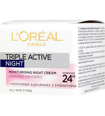L'Oréal  Triple Active Night Cream 50 ml