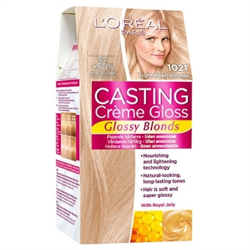 L'ORÉAL  Casting Creme Gloss 1021 Light Pearl Blonde  180ml
