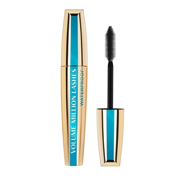 L'Oréal Paris Make-Up Designer Volume Million Lashes Waterproof - Black - Mascara mascara til øjenvipper 10,7 ml