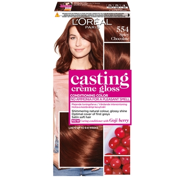 L'ORÉAL  Casting Creme Gloss 554 Spic Chocolate  180ml