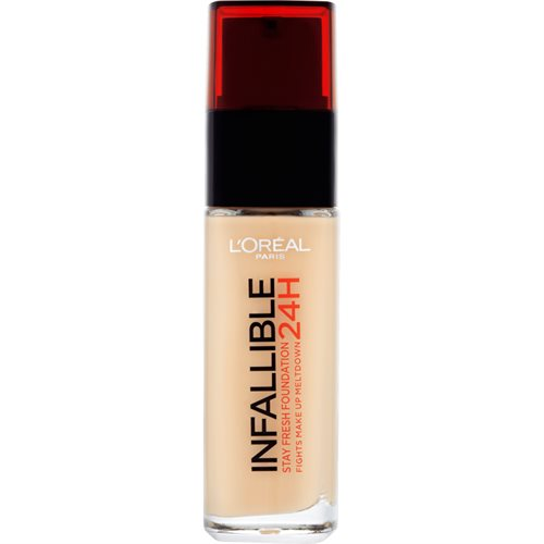 L' Oreal  Foundation Infallible 24H 125 Natural Rose 30ml
