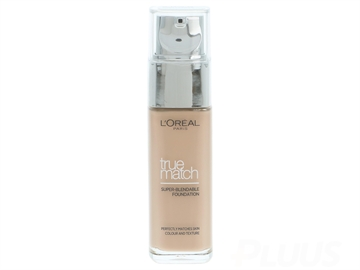L' Oreal Paris True Match Foundation W3 Golden Beige 30ml