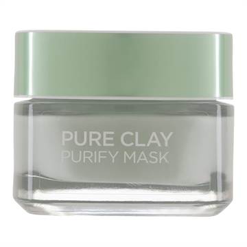L'Oreal Paris Pure Clay Purity Mask Green 50 ml