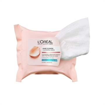 L'Oreal Paris Flower Cleansing Wipes Normal Skin