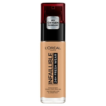 L' Oreal Infaillible24H Fresh Wear Foundation SPF18 30ml nr.260 Soleil Dore/Golden Sun