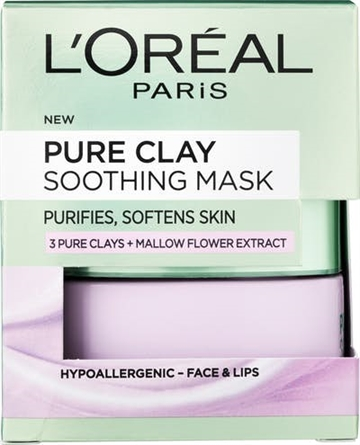 L'Oreal Paris Pure Clay Soothing Mask Puurple 50 ml