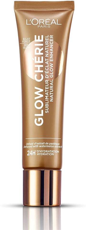 L' Oreal Glow Cherie Natural Glow Enhancer Lotion, 04 Deep Glow