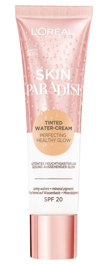 L' Oreal  Skin Paradise Tinted Cream Light 02 Fondation