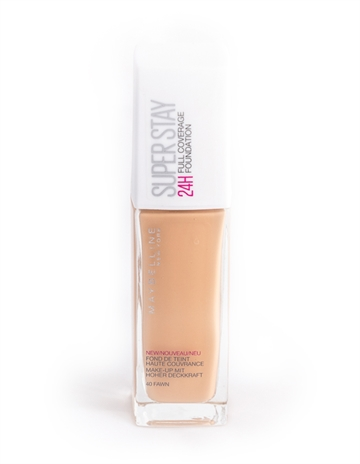 Maybellines Superstay 24H Foundation 040 Fawn