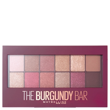 Maybelline Maybelline The Burgundy Bar Eye Shadow Compact 9.6g 13 Looks in 1 Palette
