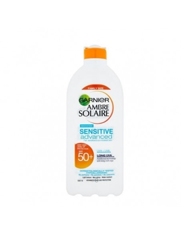 Garnier Ambre Solaire Sensitive Advanced Solcreme Mælk Krop 400ml