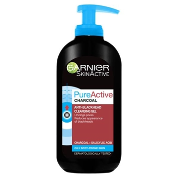 Garnier Pure Active Anti Blackhead Charcoal Wash 200ml