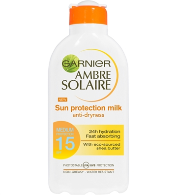 Garnier Sun Protection Milk SPF15 200ml