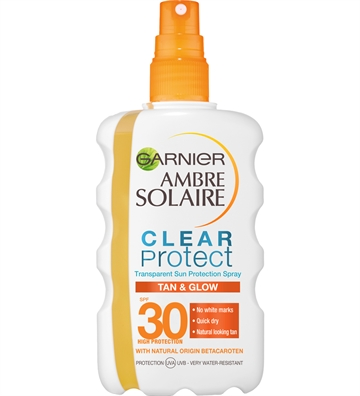 Garnier Ambre Solaire Clear Protect Spray Bronze SPF 30 200ml