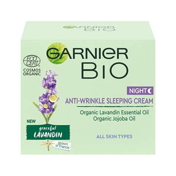 Garnier Skinactive Bio Lavander Sleeping Cream 50ml