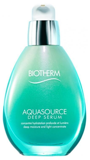 Biotherm Aquasource Deep Serum 50ml All Skin Types - Deep Moisture And Light Concentrate - Suitable For Sensitive Skin
