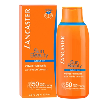 Lancaster Sun Beauty Velvet Fluid Milk SPF50 175ml