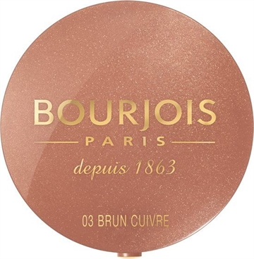 Bourjois Bjs Little Round Pot Blush 03 Brown 2,5G