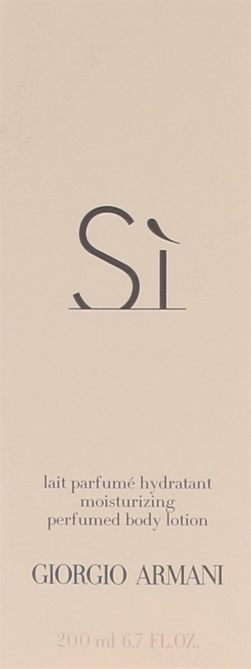 Armani Si Perfumed Moisturizing Body Lotion 200ml
