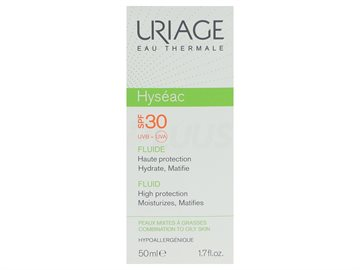 Uriage Hyseac Fluide SPF30 50ml