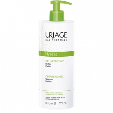 Uriage Bariederm Cleansing Gel 500ml Combination to Oily Skin