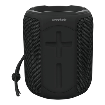 Essentials, Vandtæt Bluetooth højttaler, 2 x 5W, IPX7, sort