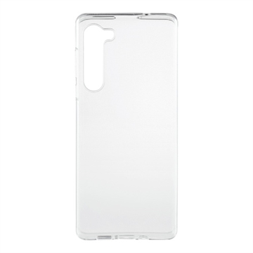 Essentials, Motorola Edge, TPU backcover, Transparent