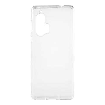 Essentials, Motorola Edge Plus, TPU backcover, Transparent