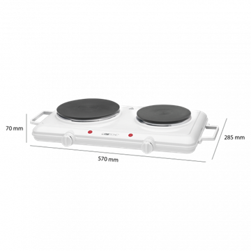 Clatronic DKP 3583 Double hotplate