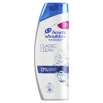 Head & Shoulders anti-dandruff shampoo 400ml Classic clean