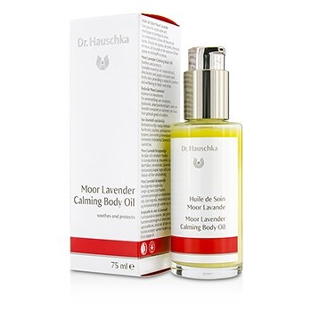 Dr. Hauschka Moor Lavender Calming Body Oil 75ml