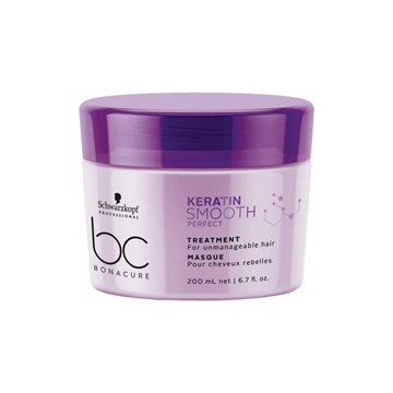Schwarzkopf BC Keratin Smooth Mask 200ml