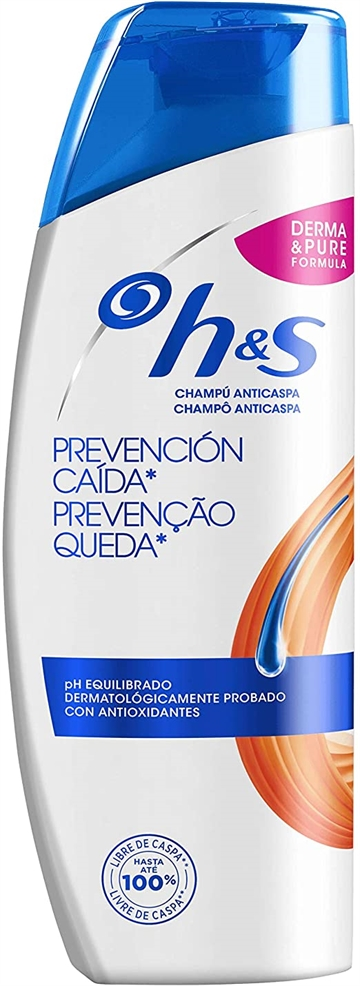 Head & Shoulders anti-dandruff shampoo 270ml Fall hair prevention