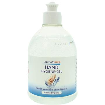 Marvita Med Hygienic Gel 500ml Push-Pull Cap