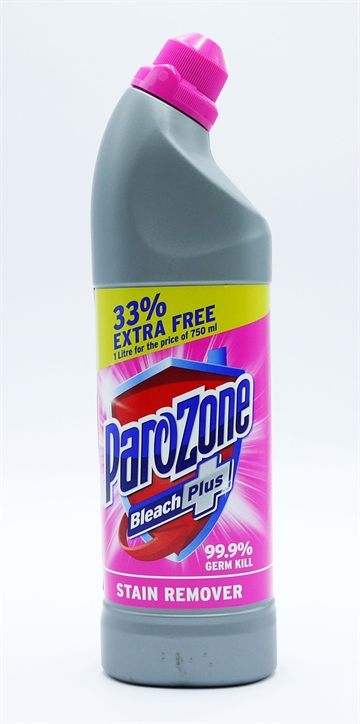 Parozone Plus Bleach Stain Remover 33% Extra 750ml