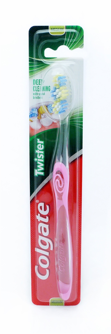Colgate Twister Medium Tandbørste 1 stk