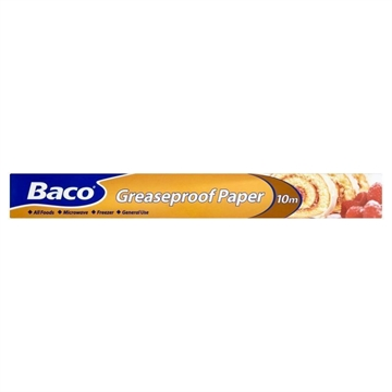 Bacofoil Greasproof Paper 380mm X 10M
