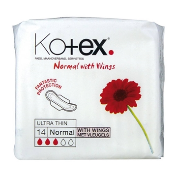 KOTEX ULTRA PLUS NORMAL 14s