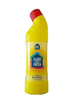 Clean & Fresh Thick Bleach Citrus 750ml