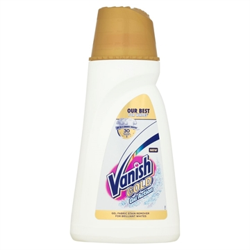 Vanish Gold Oxi Action Gel Whites 940ml