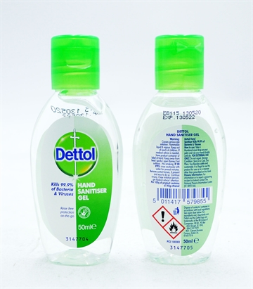 Dettol Hand Sanitizer Gel Original 50ml